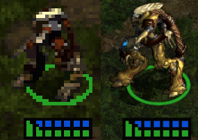 Image 1 : Tom's TV : Starcraft Remastered, comparaison UHD contre VGA