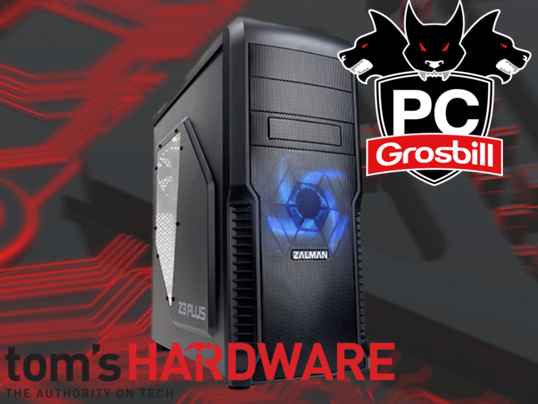 Image 1 : PC Tom's Hardware by Grosbill : la version avec OS en promo de lancement !