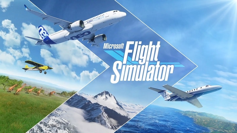 Image 2 : Flight Simulator en 8K demande plus 16 Go de VRAM