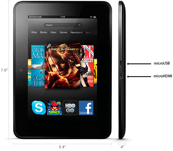 Image 4 : Test Kindle Fire HD : la meilleure tablette d'Amazon
