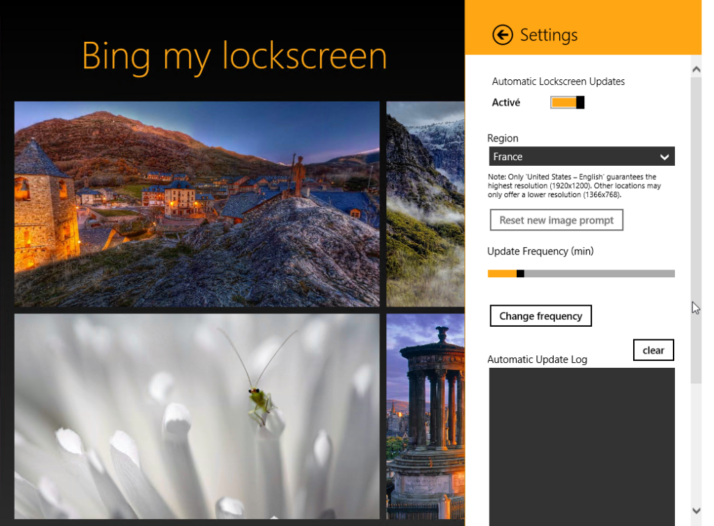 Comment Afficher Limage Bing Du Jour En Lock Screen 35