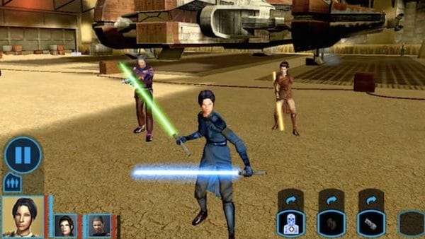 Image 1 : Star Wars: Knight of the Old Republic à redécouvrir sur Android