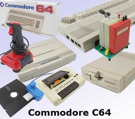 Image 1 : Séquence nostalgie : le Commodore 64