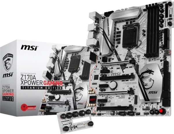 Image 1 : Z170 XPower Gaming Titanium Edition : MSI fusionne les gammes OC et Gaming