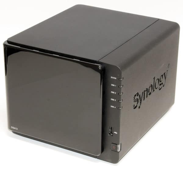 Image 1 : Test du NAS Synology DS416, le nouveau champion