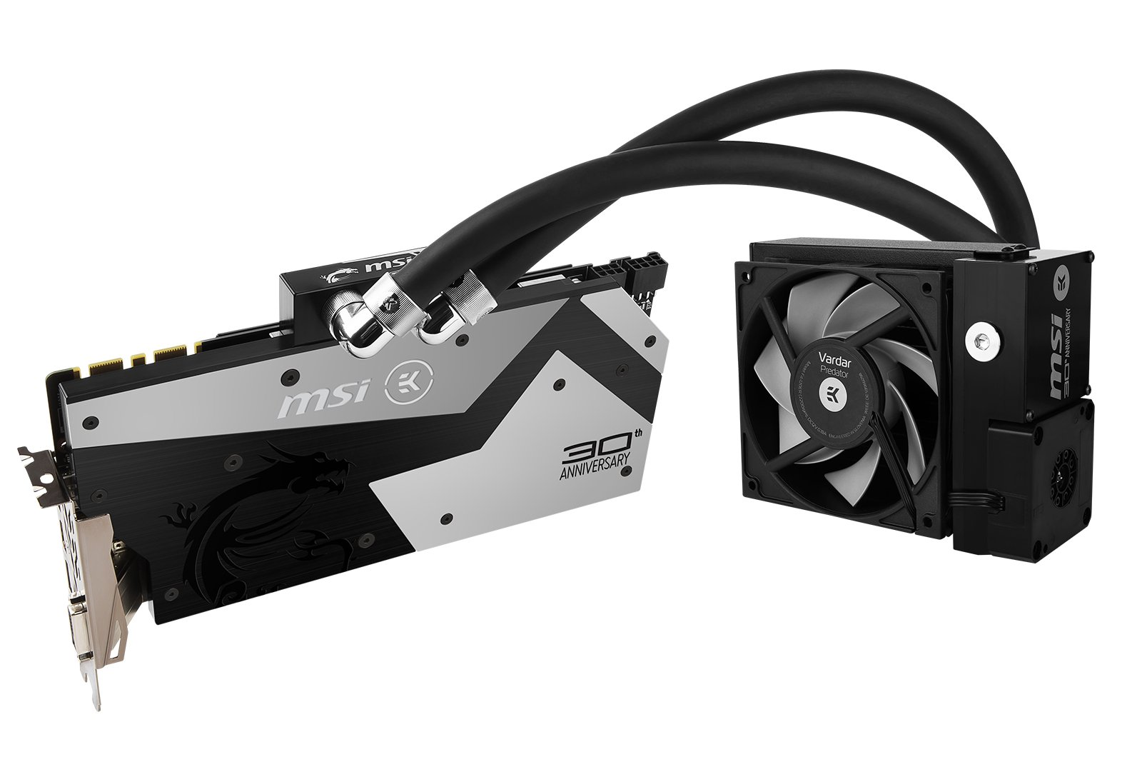Image 3 : MSI GTX 1080 30th Anniversary : une GeForce collector sous watercooling EKWB