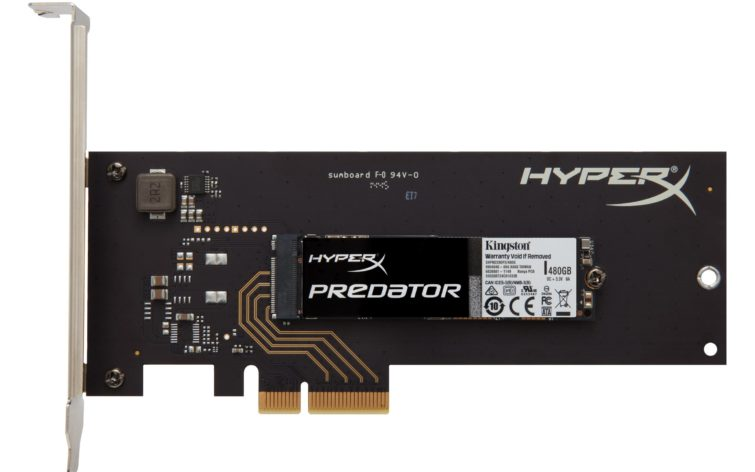Image 1 : Test : le SSD NVMe Kingston HyperX Predator 480 Go