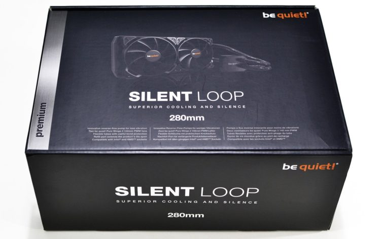 Image 2 : Test : be quiet! Silent Loop 280 mm, le watercooling discret