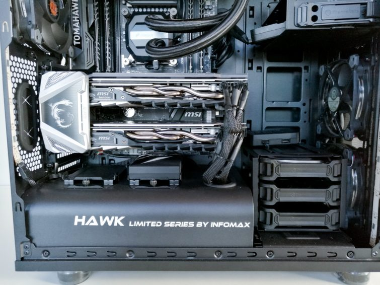 Image 1 : Test : le Hawk d'Infomax, un PC gaming clefs en main réussi