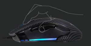 Image 4 : Souris gaming Biostar GM5 : 7200 ppp, ambidextre, destinée au claw-grip