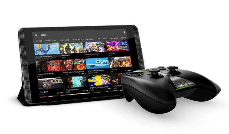 Image 1 : La tablette Nvidia Shield Tablet K1 reçoit Android 7 Nougat