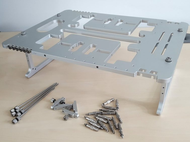 Image 6 : Test : Streacom BC1 Open Benchtable, classe, astucieuse, perfectible
