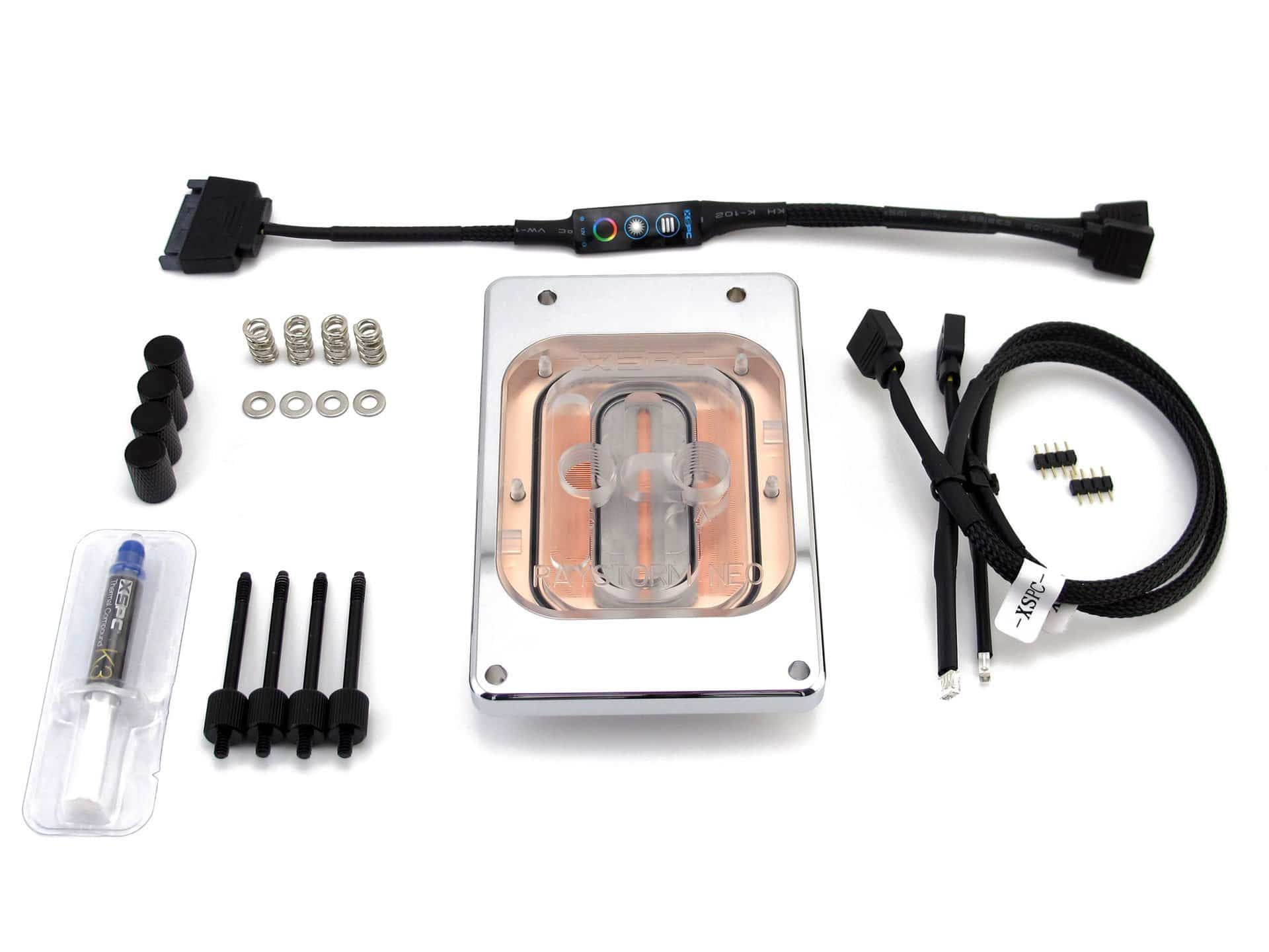 Image 7 : XSPC Raystorm Neo : le plus gros waterblock pour Threadripper