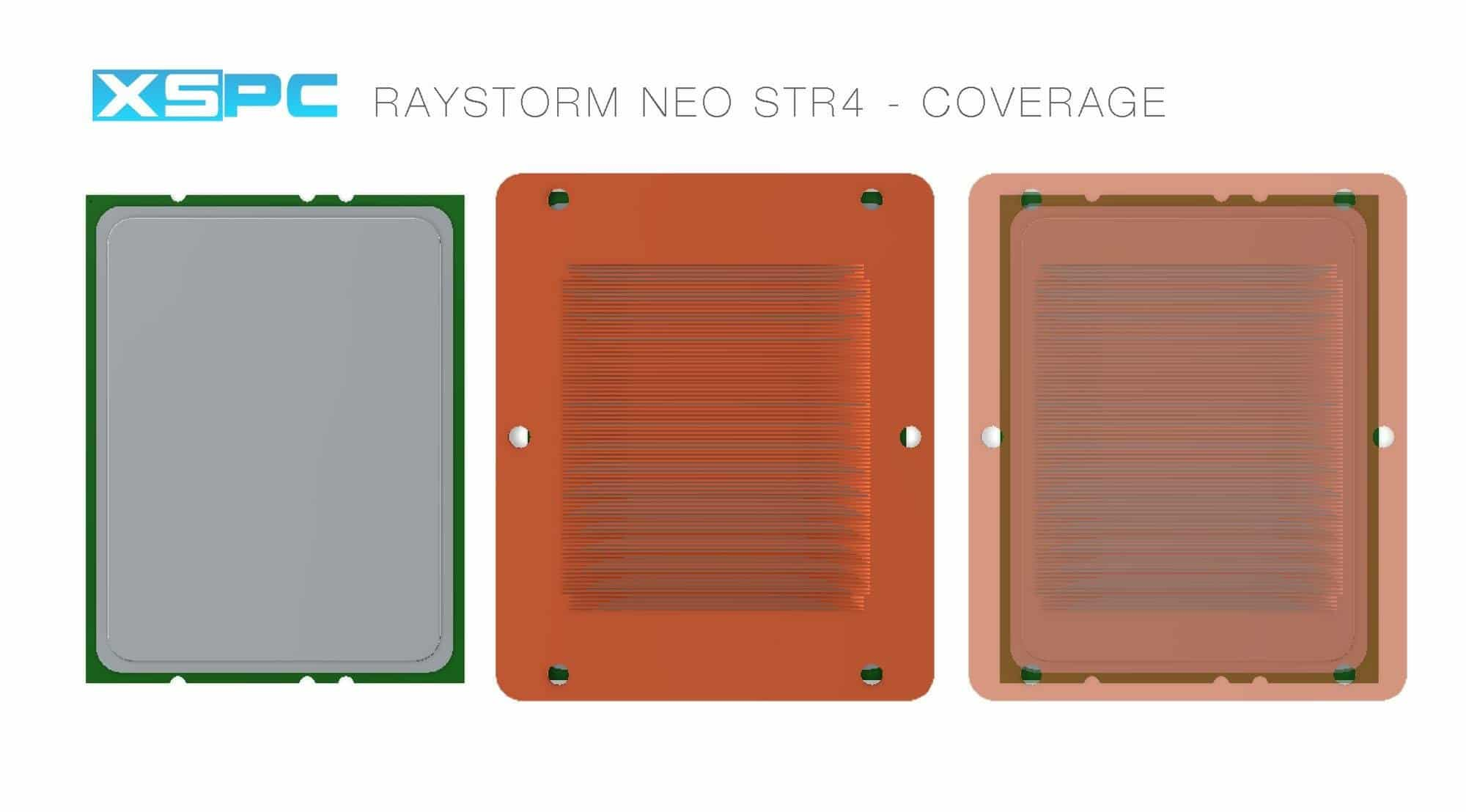 Image 6 : XSPC Raystorm Neo : le plus gros waterblock pour Threadripper