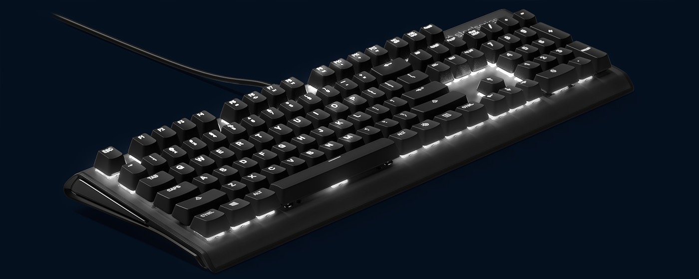 Image 6 : Apex M750 : premier clavier gaming SteelSeries avec switch QX2 RGB