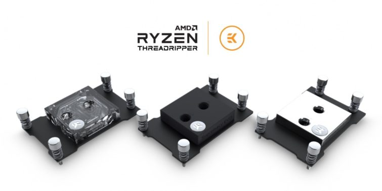 Image 1 : EK-Supremacy Evo : premier waterblock d'EKWB pour les Ryzen Threadripper