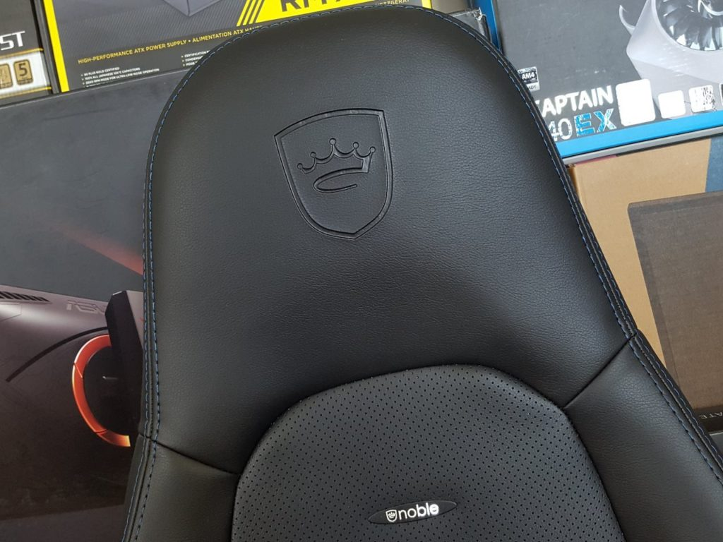 Image 1 : Test noblechairs ICON : le Throne of Games !