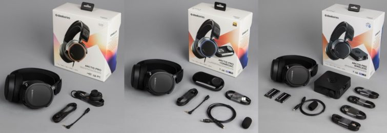 Image 1 : Casques SteelSeries Arctis Pro : de l'audio gaming haute résolution