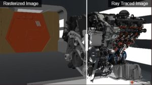 Image 1 : AMD annonce sa technologie de Ray Tracing temps réel, sous Vulkan
