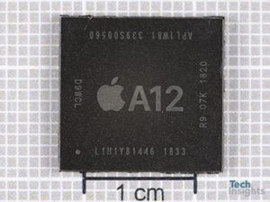 Image 2 : Apple Bionic A12 : le SoC décapsulé, le die en photo