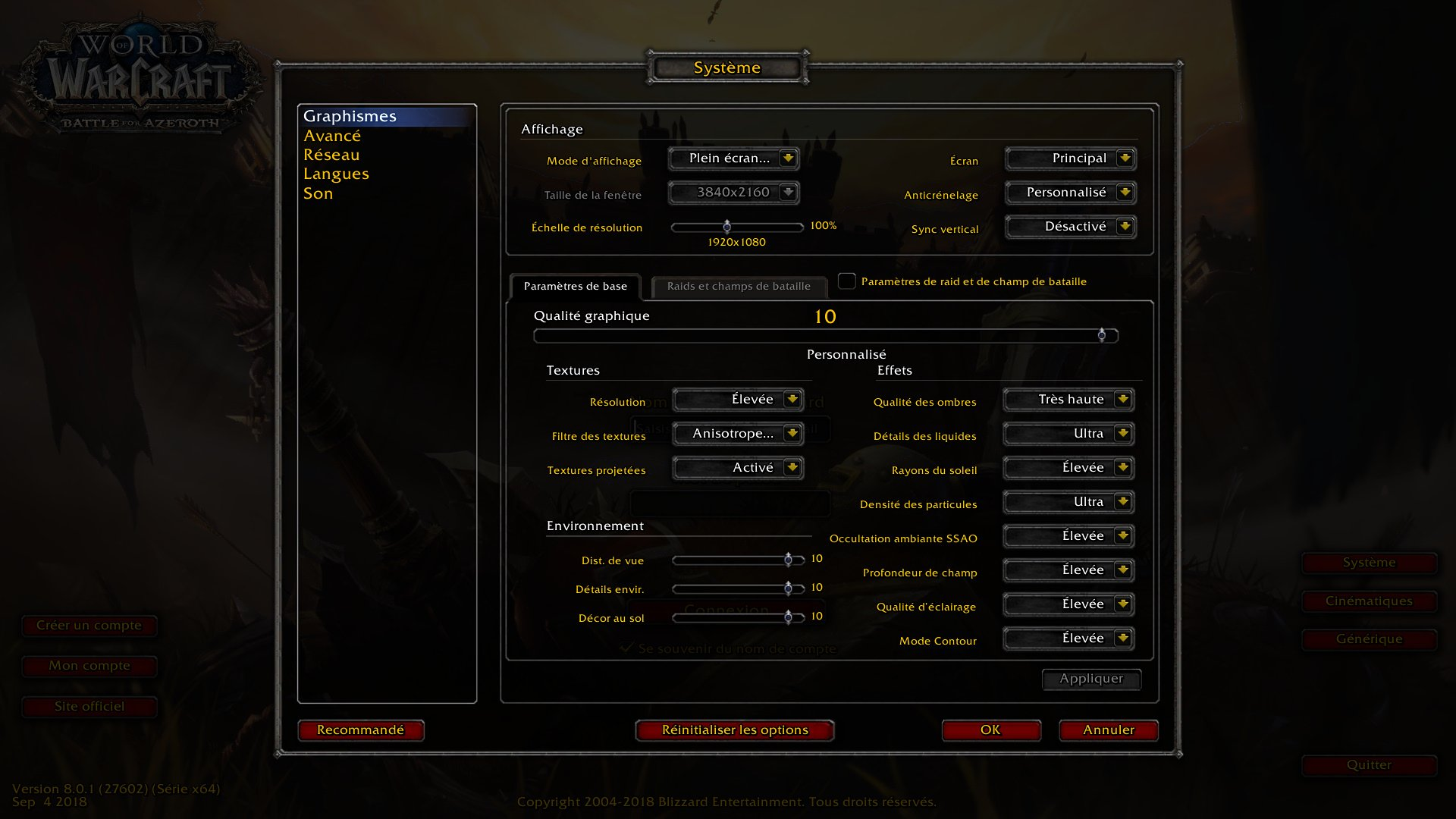Image 1 : Test : WoW Battle For Azeroth, comparatif DX11 vs DX12, AMD vs NVIDIA