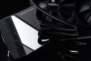 Image 3 : Asus ROG Ryujin : gros watercooling avec écran OLED pour Threadripper