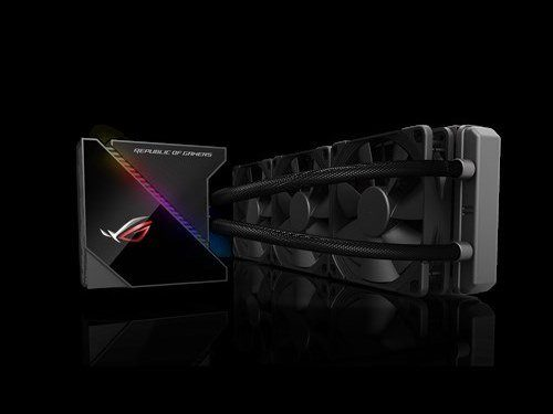Image 1 : Asus ROG Ryujin : gros watercooling avec écran OLED pour Threadripper