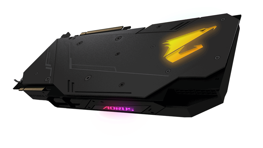 Image 2 : Aorus Xtreme Waterforce : des RTX avec watercooling AIO et waterblocks