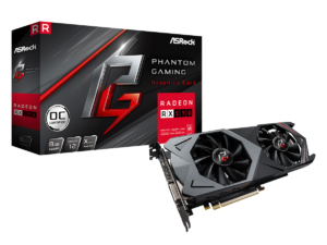 Image 1 : ASRock RX 590 Phantom Gaming X : la plus overclockée du moment