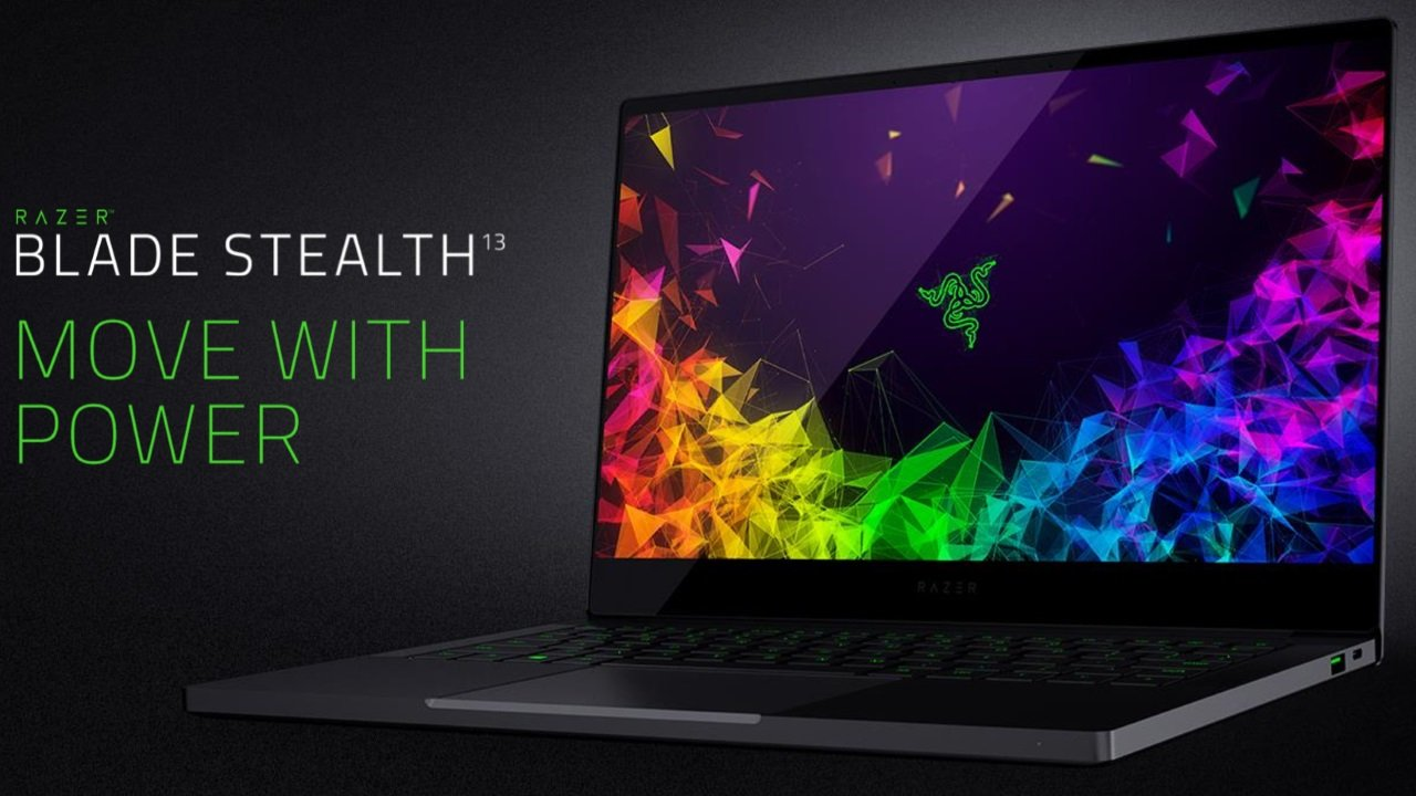 Image 1 : Ultrabook Razer Blade Stealth : nouveau design et GeForce MX150 boostée !