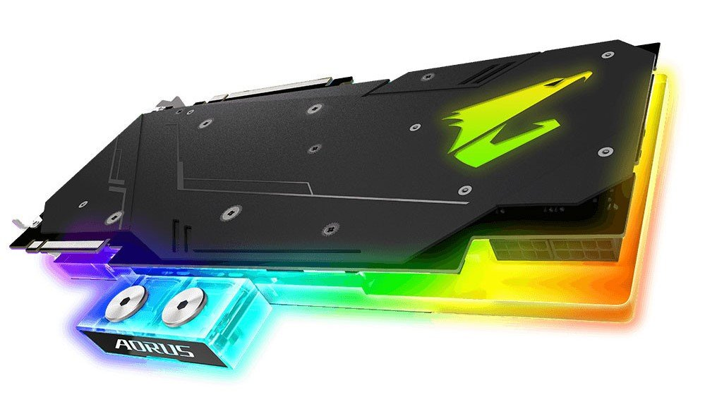 Image 7 : Aorus Xtreme Waterforce : des RTX avec watercooling AIO et waterblocks