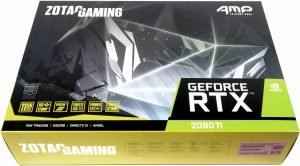 Image 1 : Test : GeForce RTX 2080 Ti Amp! Extreme, la carte la plus folle de Zotac