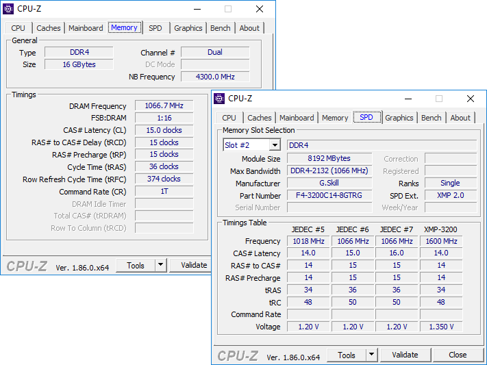Image 4 : Test : DRAM G.Skill Trident Royal DDR4-3200 CL14, bling, luxe et performances