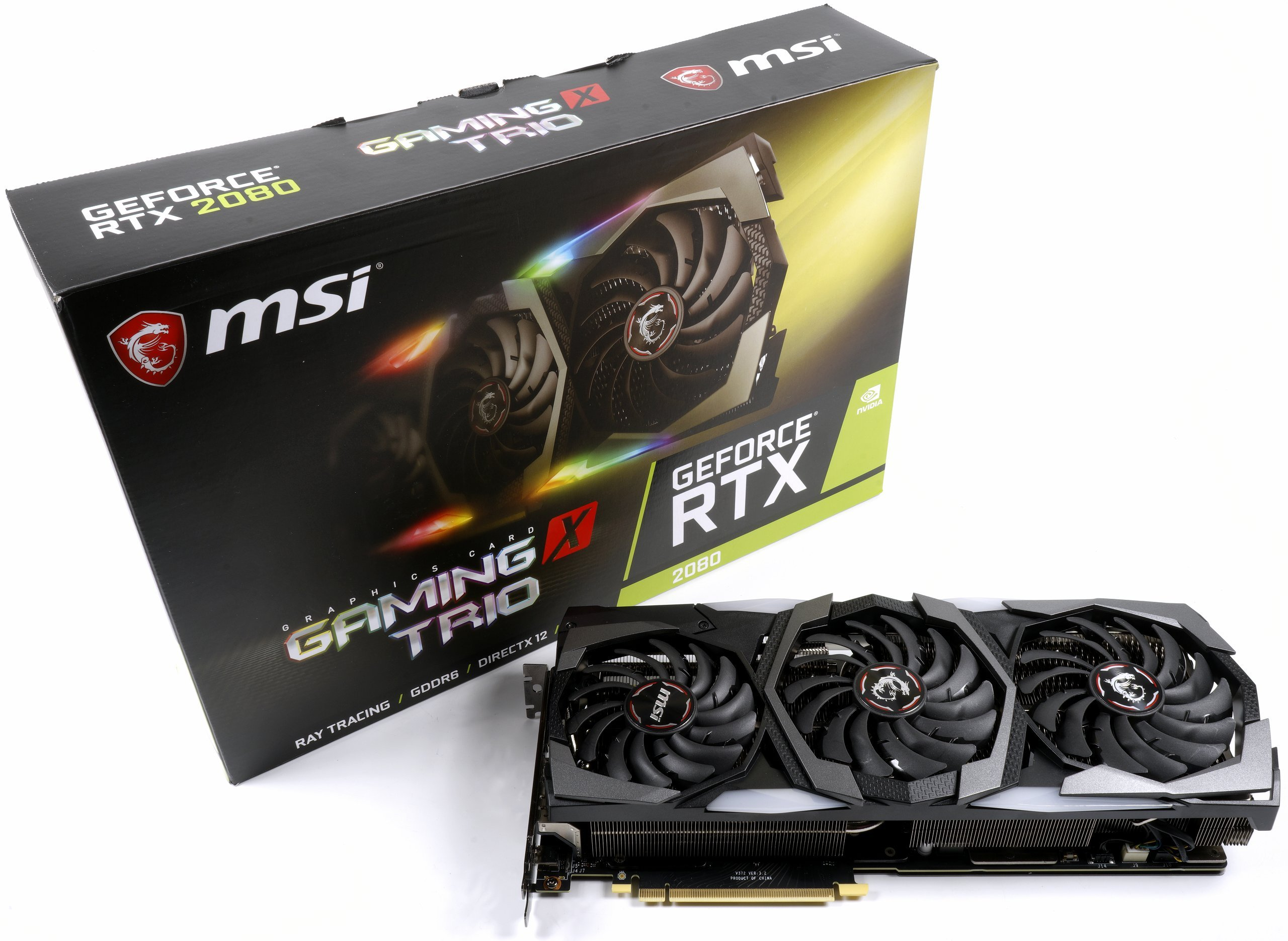 Image 1 : Test : MSI RTX 2080 Gaming X Trio, silencieuse et rapide