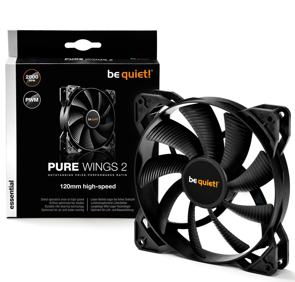 Image 1 : Be Quiet! : ventilateurs Shadow Wings 2 et Pure Wings 2 high-speed