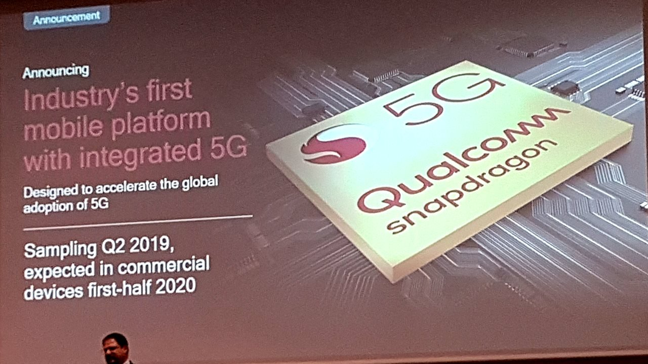 Qualcomm 5G embedded Snapdragon