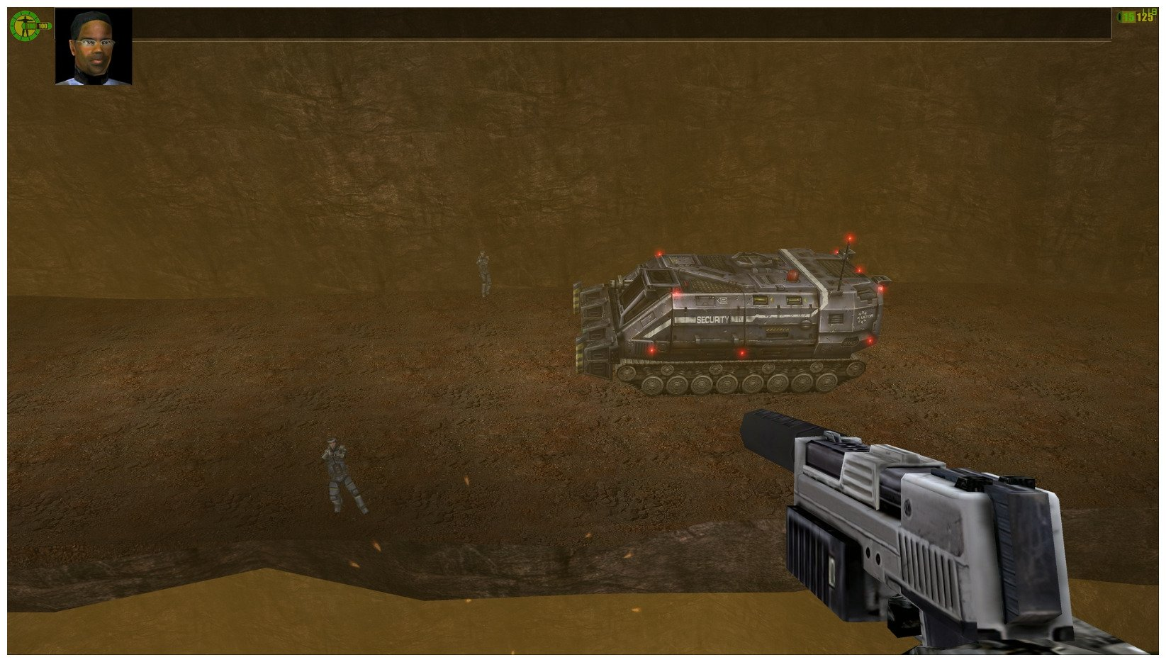 Image 20 : Red Faction transformé grâce à un pack de textures HD