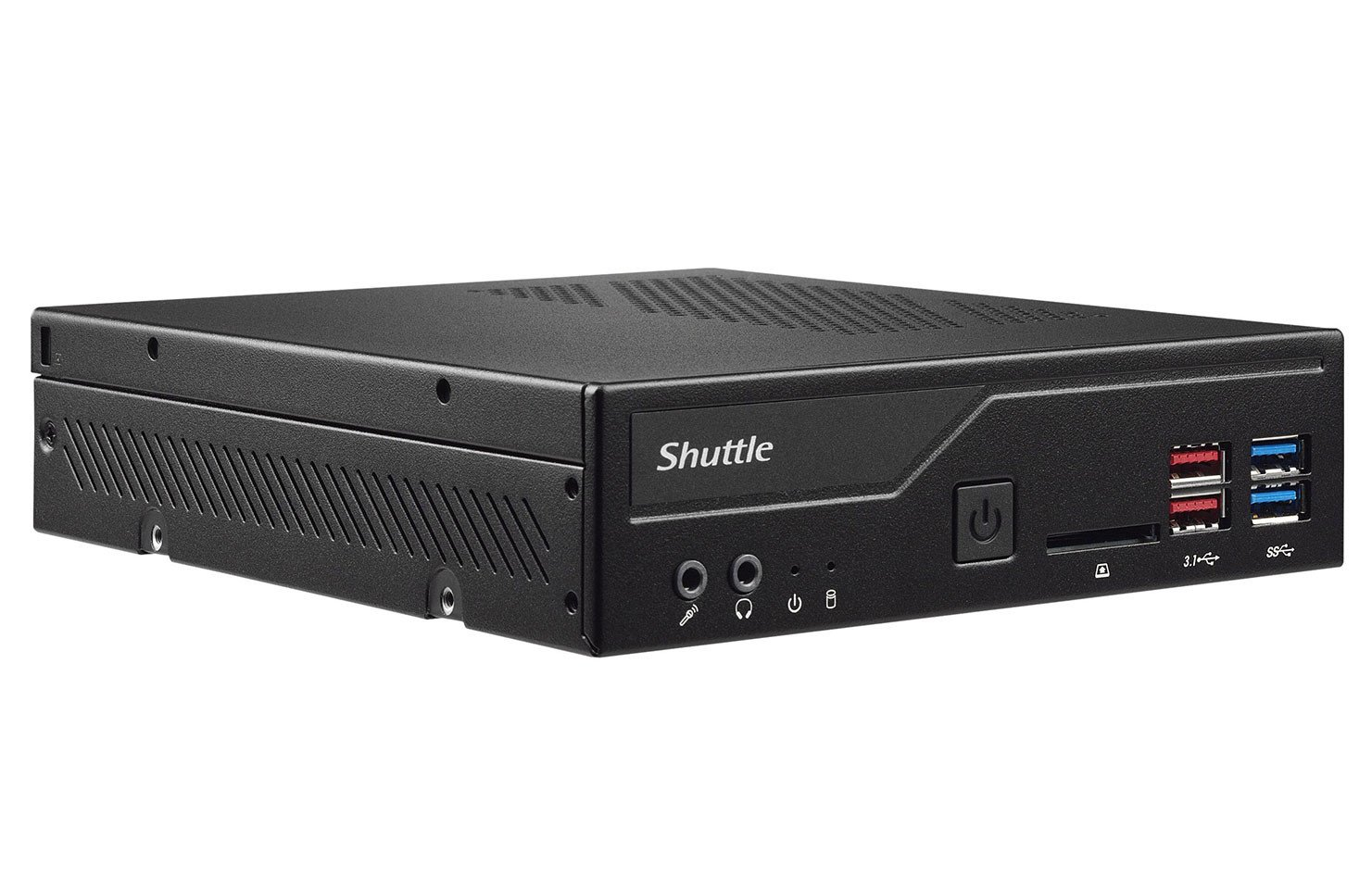 Image 1 : Le mini PC Shuttle XPC DH370 passe aux CPU Intel 8e Gen