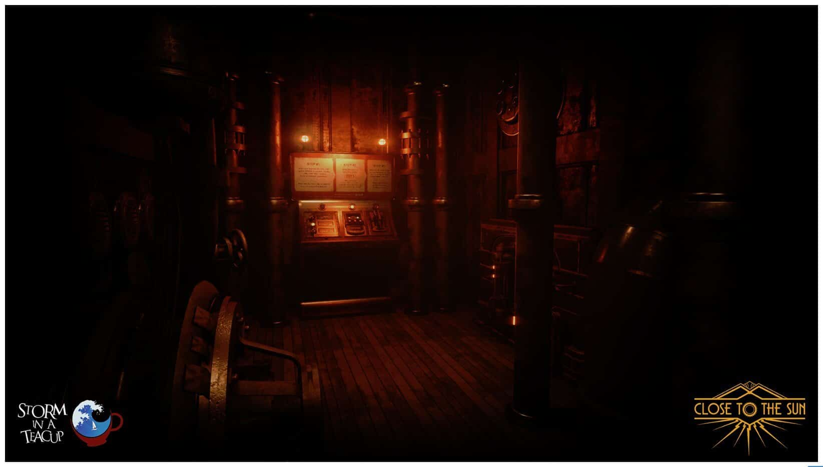 Image 3 : Close to the Sun, fils spirituel de Bioshock, passe à Unreal Engine 4, et c'est beau !