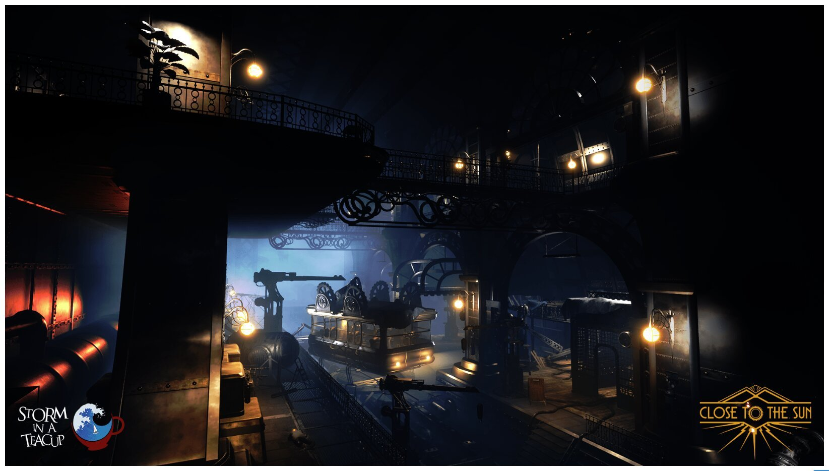 Image 7 : Close to the Sun, fils spirituel de Bioshock, passe à Unreal Engine 4, et c'est beau !