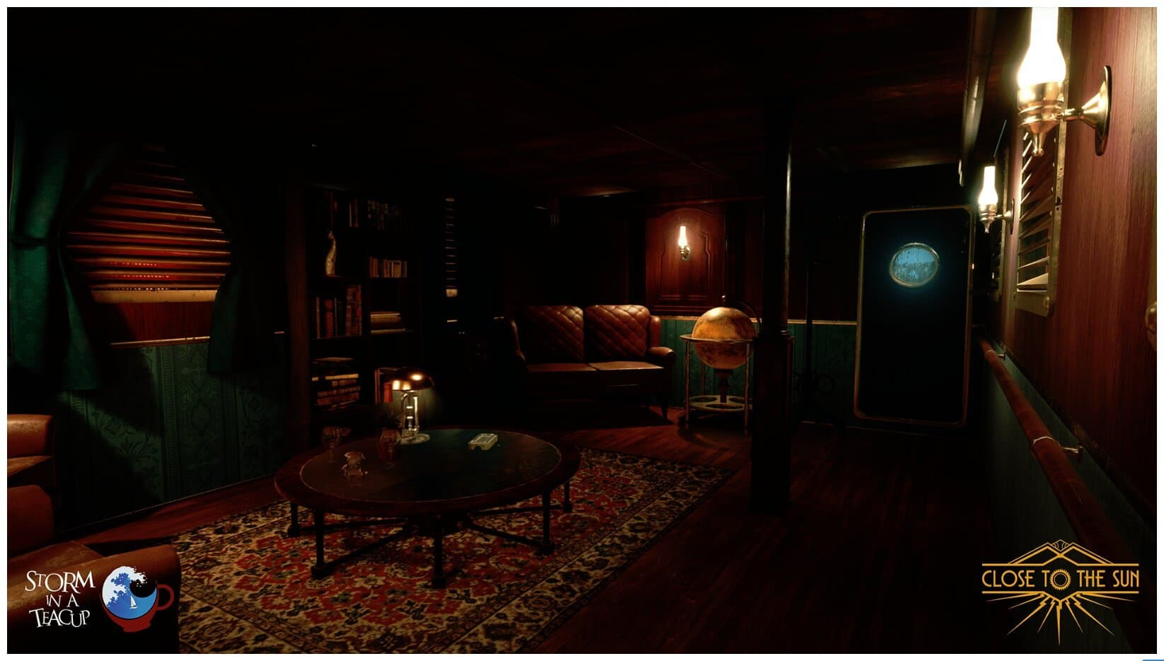Image 8 : Close to the Sun, fils spirituel de Bioshock, passe à Unreal Engine 4, et c'est beau !