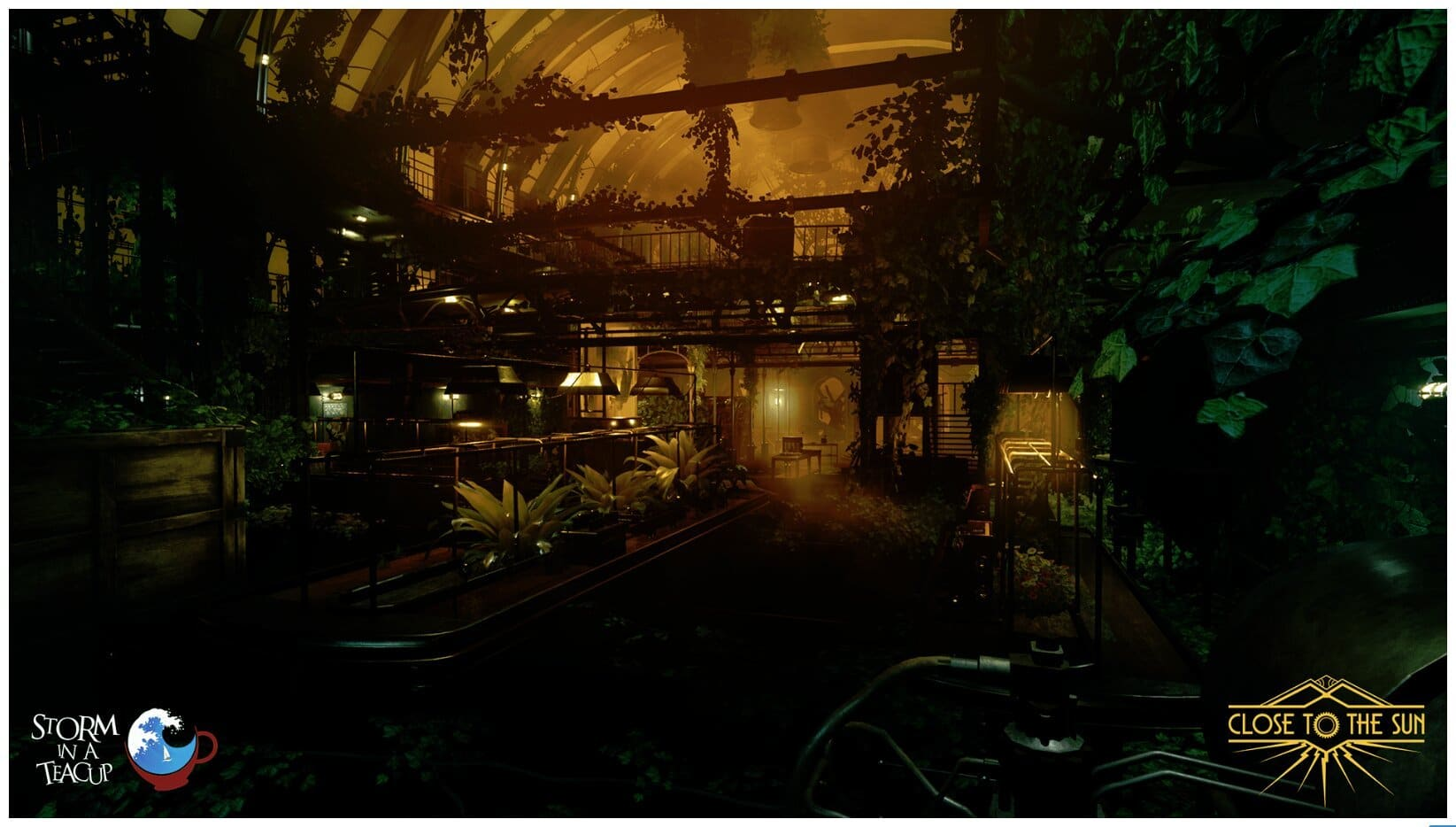 Image 9 : Close to the Sun, fils spirituel de Bioshock, passe à Unreal Engine 4, et c'est beau !