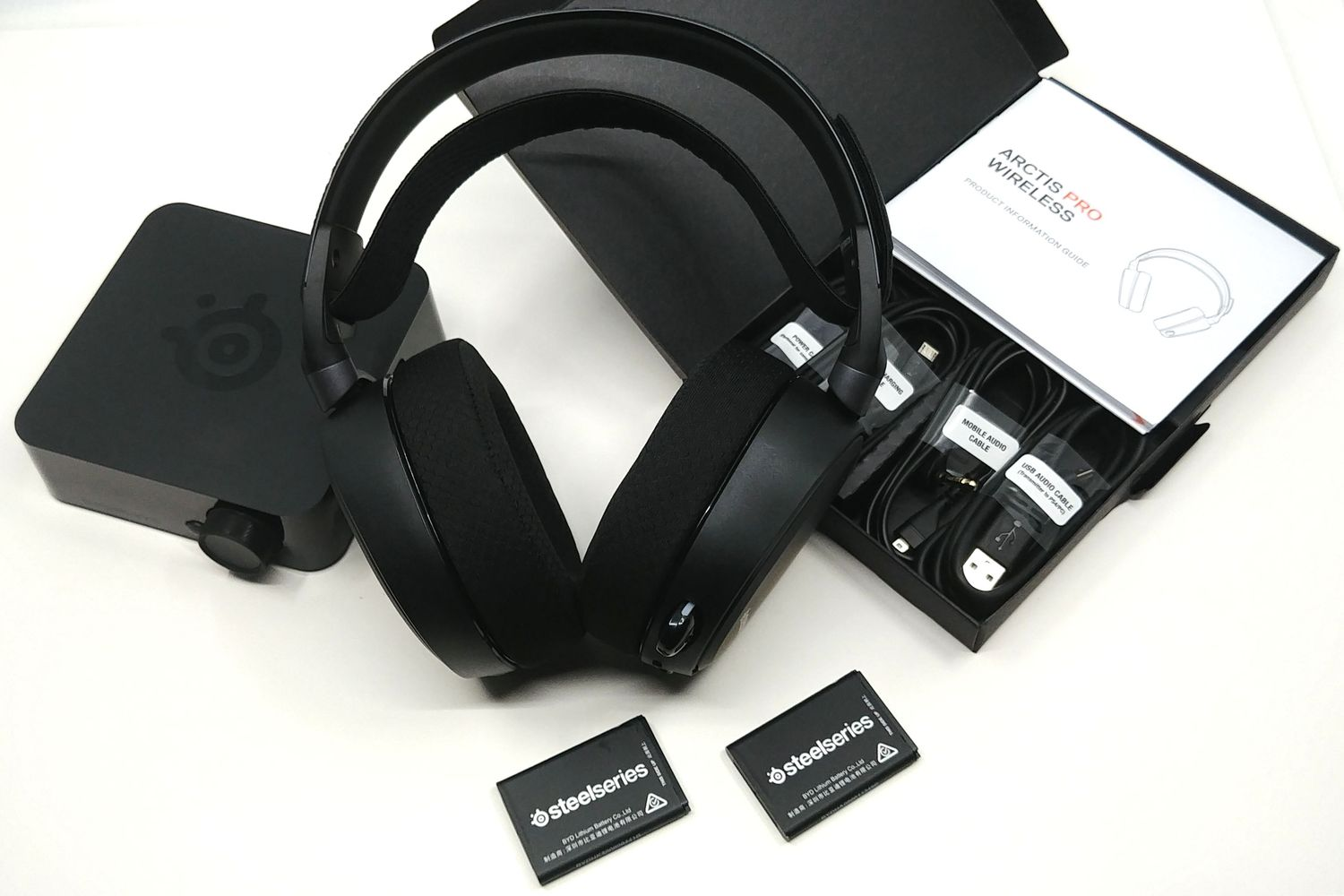 Image 2 : Mini Test : casque SteelSeries Arctis Pro Wireless, le grand luxe pour vos oreilles