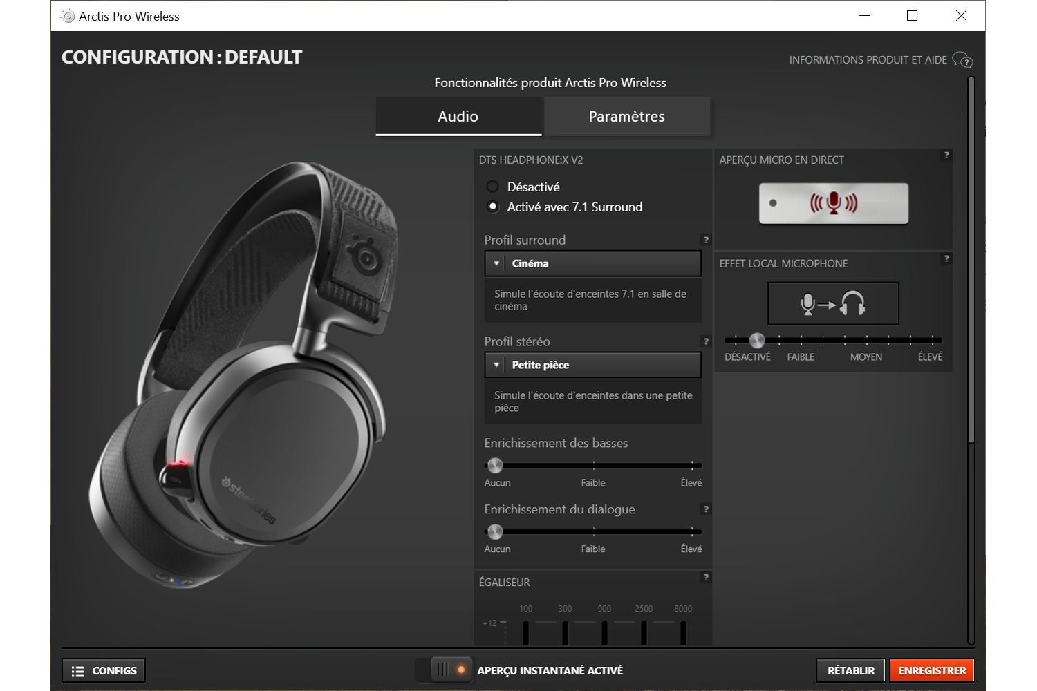 Image 10 : Mini Test : casque SteelSeries Arctis Pro Wireless, le grand luxe pour vos oreilles