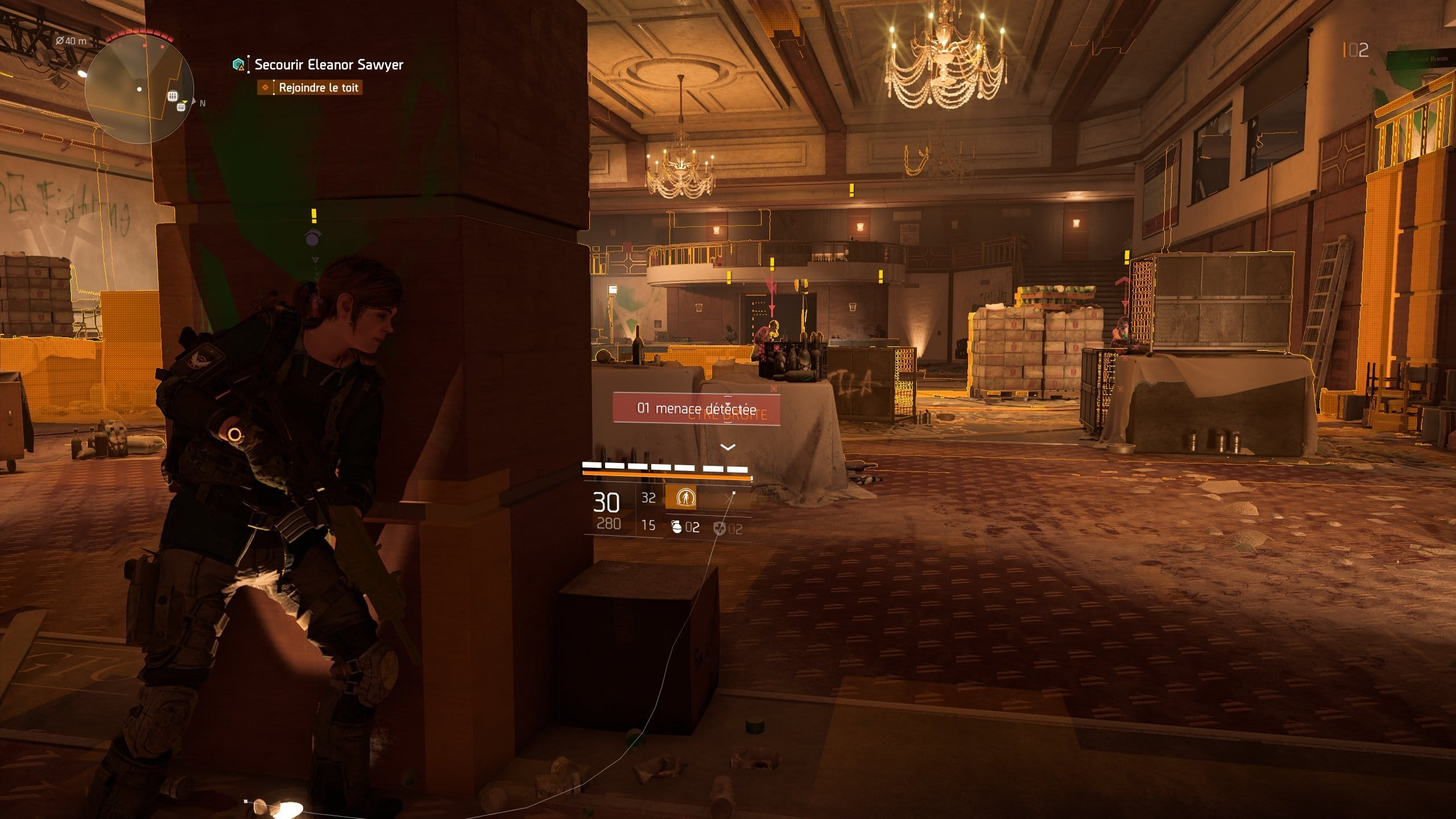 Image 15 : Test : The Division 2, analyse des performances sur GPU AMD et NVIDIA
