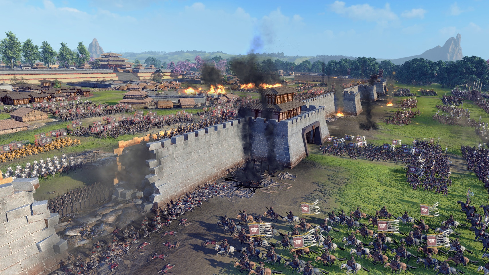 Image 1 : Total War : Three Kingdoms, les configurations dévoilées