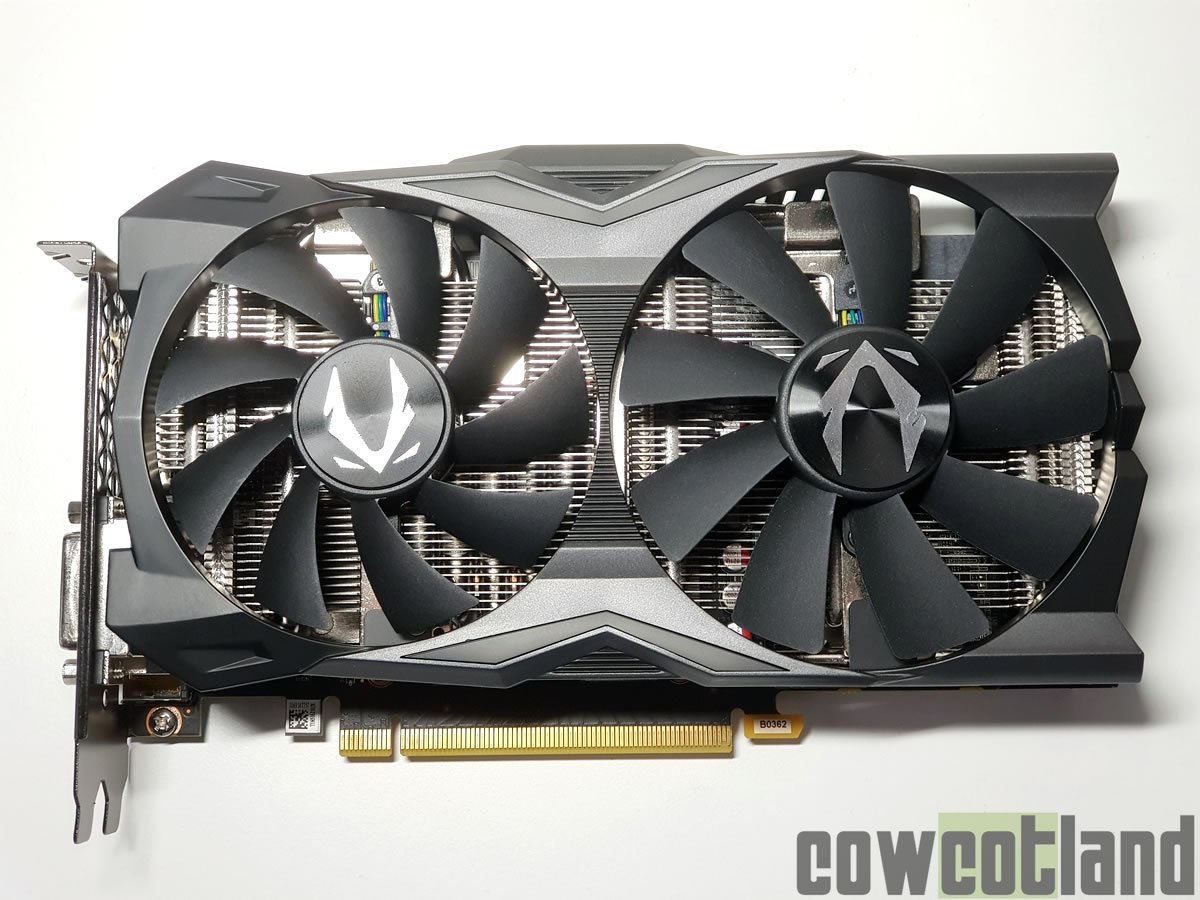 Image 1 : Test de la carte ZOTAC Gaming RTX 2070 Mini OC