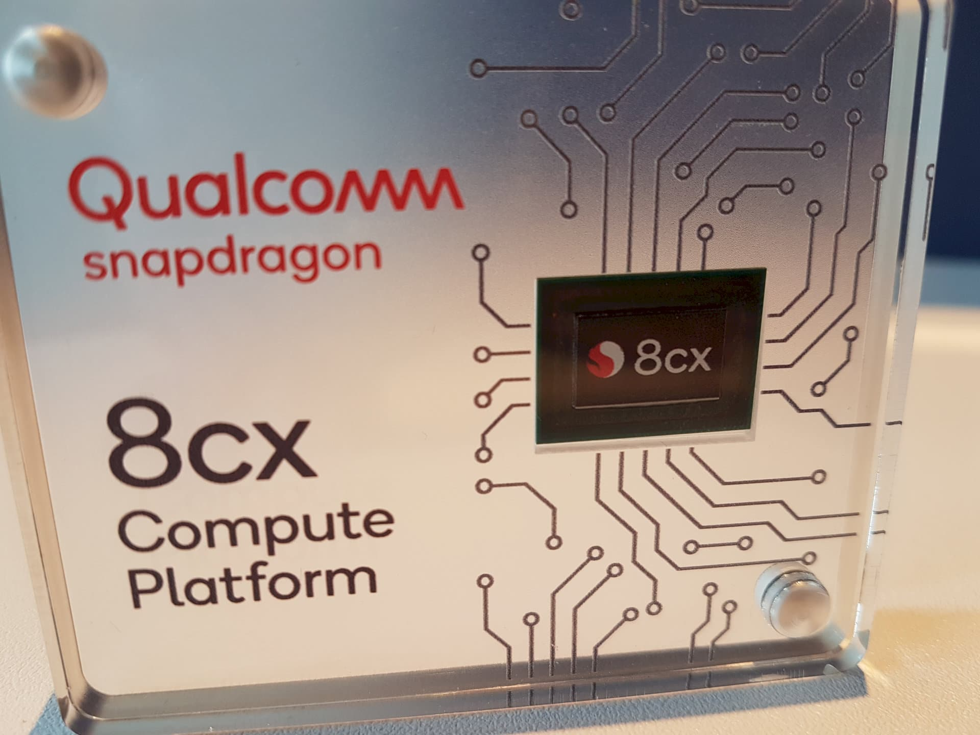 Image 6 : Computex : la plateforme Qualcomm 8cx plus efficace qu'un portable Intel Core i5 !