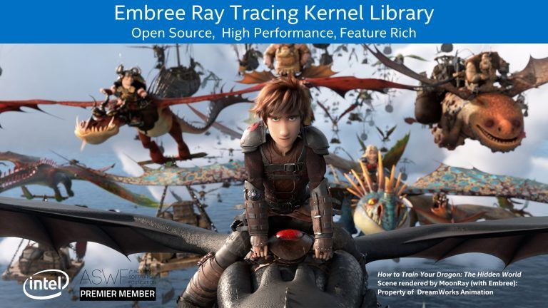 Image 1 : Les prochains GPU d'Intel prendront en charge le ray tracing