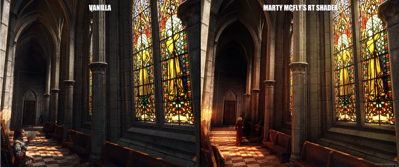 Image 3 : Vidéo : au tour de The Witcher 3 de s'essayer à l'illumination path tracing !